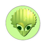 Martian Sticker